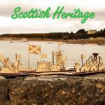 Scottish Heritage 3d wood gift Scottish cards