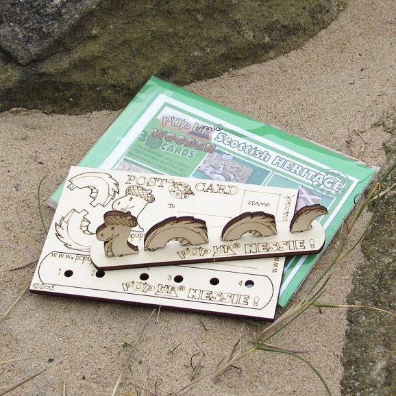 Nessie Postcard